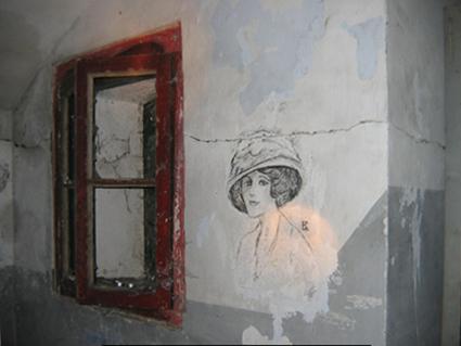 marijkebeek-Fort-Benoorden-Spaarndam-schildering-dame-450