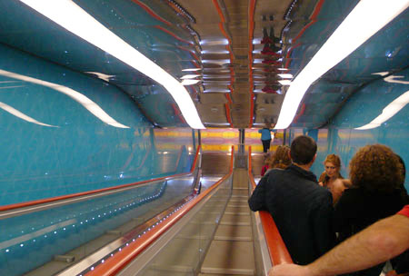 marijkebeek Napoli metro stazione Universita-450
